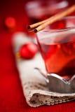 Vin chauffé Photos stock