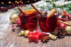 Vin chauffé Images stock