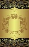 vin d'étiquette Photographie stock