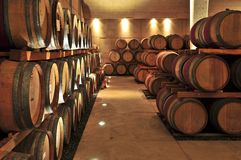 vin de barils photo libre de droits