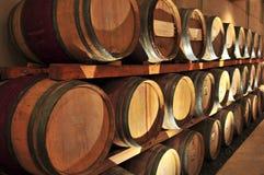 vin de barils Photographie stock libre de droits