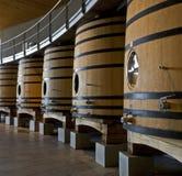 vin de barils Photos stock