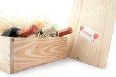 vin de bouteilles Images stock