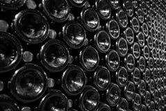 vin de bouteilles Photographie stock