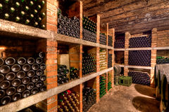 vin de bouteilles Image libre de droits