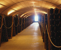 vin de cave Photos stock