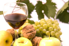 vin de fruits Photographie stock libre de droits