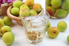 Vin de prune Photo stock