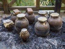 Vin de riz chinois (mijiu) Photo libre de droits