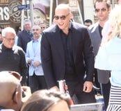 Vin Diesel royaltyfri foto