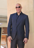 Vin Diesel. LOS ANGELES, CA - AUGUST 26, 2013: Vin Diesel on Hollywood Blvd where he was honored with the 2,504th star on the Hollwood Walk of Fame Stock Image