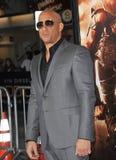 Vin Diesel. LOS ANGELES, CA - AUGUST 28, 2013: Vin Diesel at the world premiere of his movie Riddick at the Regency Village Theatre, Westwood Royalty Free Stock Photo