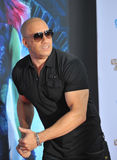 Vin Diesel. LOS ANGELES, CA - JULY 21, 2014: Vin Diesel at the world premiere of his movie Guardians of the Galaxy at the El Capitan Theatre, Hollywood Stock Photo