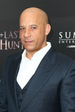 Vin Diesel. NEW YORK-OCT 13: Actor Vin Diesel attends 'The Last Witch Hunter' New York premiere at AMC Loews Lincoln Square on October 13, 2015 in New York City Royalty Free Stock Image