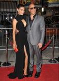 Vin Diesel & Paloma Jim�nez Stock Photos