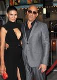 Vin Diesel & Paloma Jim�nez Stock Images
