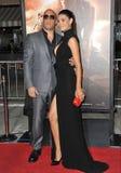 Vin Diesel & Paloma Jimï ¿ ½ nez Royalty-vrije Stock Foto's
