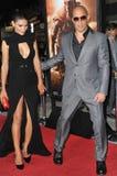 Vin Diesel & Paloma Jim�nez Stock Photo