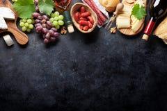 Vin druva, ost, korvar fotografering för bildbyråer
