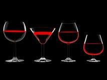vin en verre Photo libre de droits