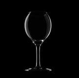 vin en verre vide Photographie stock libre de droits