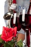 Vin et musique Photos stock