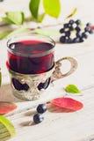 Vin från aronia Royaltyfria Bilder
