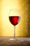 Vin Glaces de vin Vin rouge Images stock
