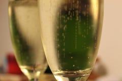 Vin mousseux de nouvelle année images stock