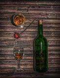 Vin pour deux photo stock
