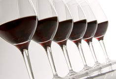 Vin rouge Photographie stock