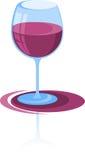 Vin rouge, cocktail Image libre de droits