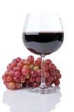 vin rouge de raisins Images stock