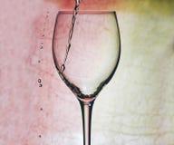 Vin rouge en glace photographie stock libre de droits