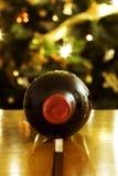 Vin rouge pour Noël images libres de droits