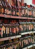 Vin shoppar Florence Arkivbilder