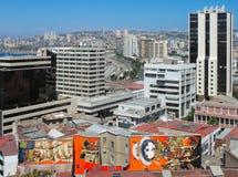 Vina del Mar, Χιλή: Άποψη της πόλης Στοκ φωτογραφία με δικαίωμα ελεύθερης χρήσης