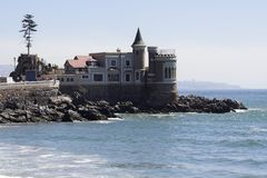 Vina del Mar Castle Stock Images