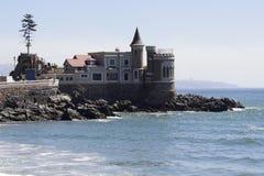 Vina del Mar Castle Stock Afbeeldingen