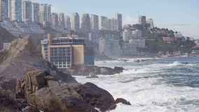 Vina del Mar, Chile stock footage