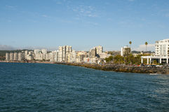 Vina Del Mar - Chile. Vina Del Mar Coastline in Chile Royalty Free Stock Photos