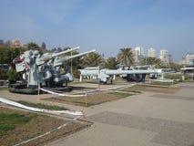 Vina del Mar - Chile. Old war equipments in Vina del Mar Stock Images