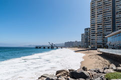 Vina del Mar no Chile Imagem de Stock Royalty Free