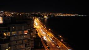 Vina del Mar Timelapse, Chile. Vina del Mar Dusk Time lapse.Chile. Two Shots stock footage
