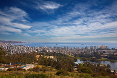 Vina del Mar and Valparaiso, Chile Stock Photo