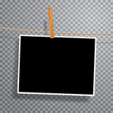 Vinage foto på rep Royaltyfria Bilder