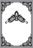 Vinage frame in art nouveau style Stock Images