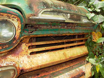 Vinage, Rusted Pickup Truck Grille Stock Photography