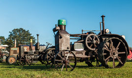 Vinage Tractor Royalty Free Stock Images