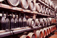 Vinagre balsámico italiano Imagen de archivo